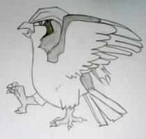 Pidgeot by jmwchan