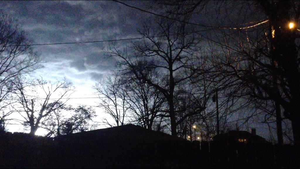 Thunderstorms At Night  by JohnnyWyatt