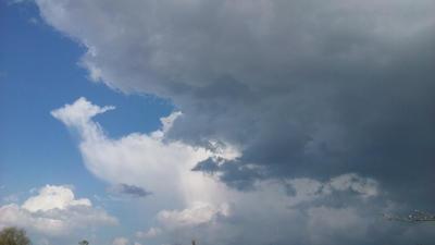 Interesting Cloud Formations  by JohnnyWyatt