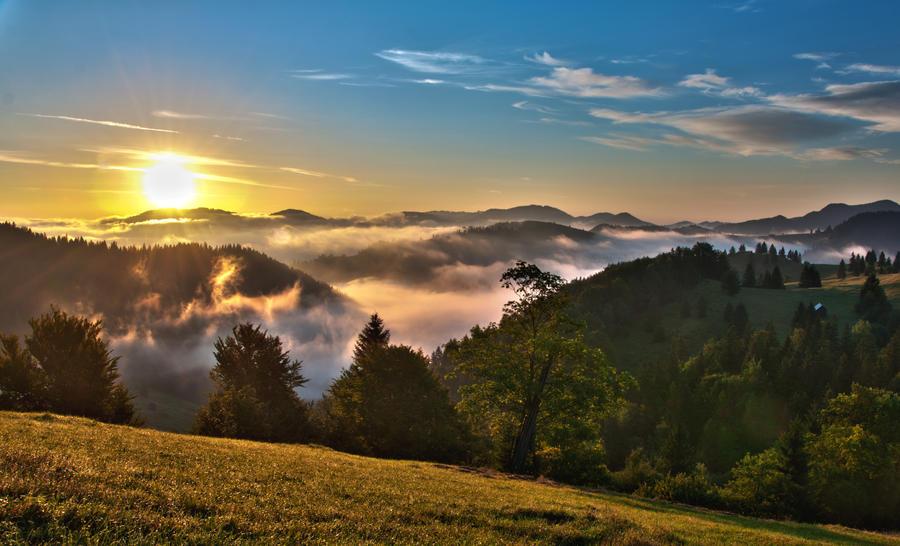 Sunrise by ancam131