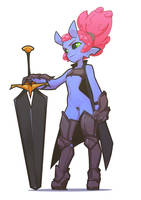 Demon Warrior by The-Pink-Pirate