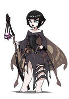 Fairy Goth Wizard by The-Pink-Pirate