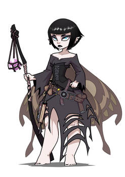 Fairy Goth Wizard