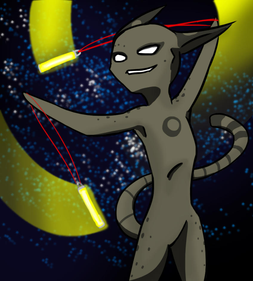 Space Raver by InsaneSokPuppet
