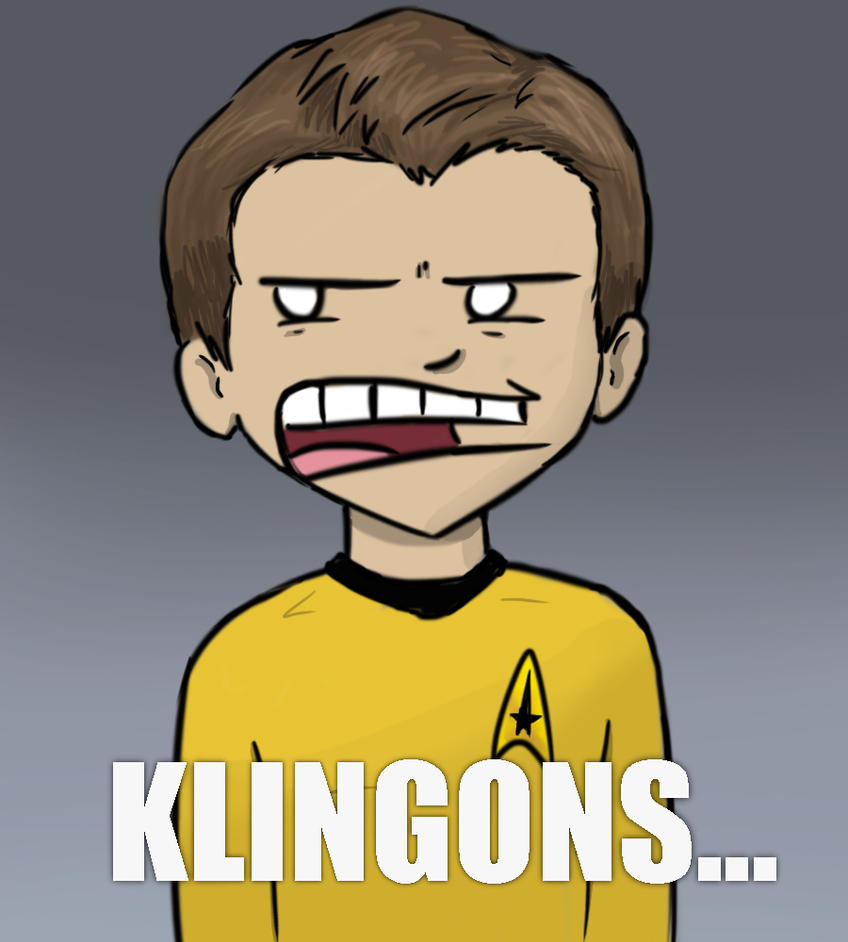 DINKLEB- I MEAN KLINGONS!... by InsaneSokPuppet