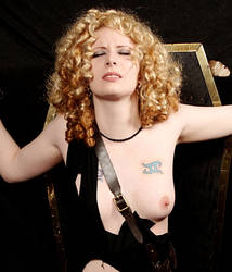 River Song cosplay bondage by RayWendy