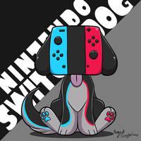 Nintend switch color dog