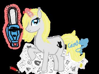 Ponysona by GrimReeku