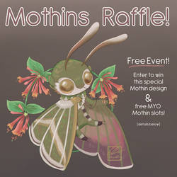 Free Mothins Raffle Event! [Winners Announced!]