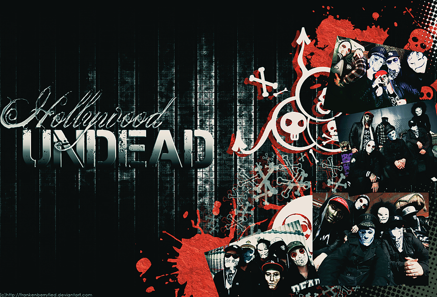 Hollywood Undead By Frankenberryfied