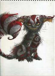 Cheshire cat by Vincent-Noir