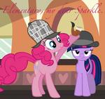 Elementary, my dear Sparkle