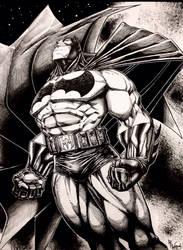BATMAN by WhoIsRobWillis