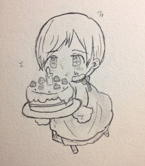 Chibi APH Finland Doodle (Birthday Edition)