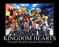 Kingdom Hearts Motivator by Kachapush