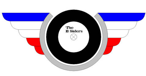 The B-Sider logo (refined version) no.2