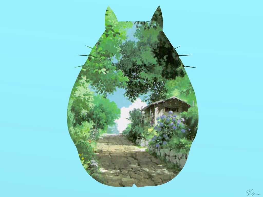 My Neighbour Totoro Wallpaper By XKairiNolanX
