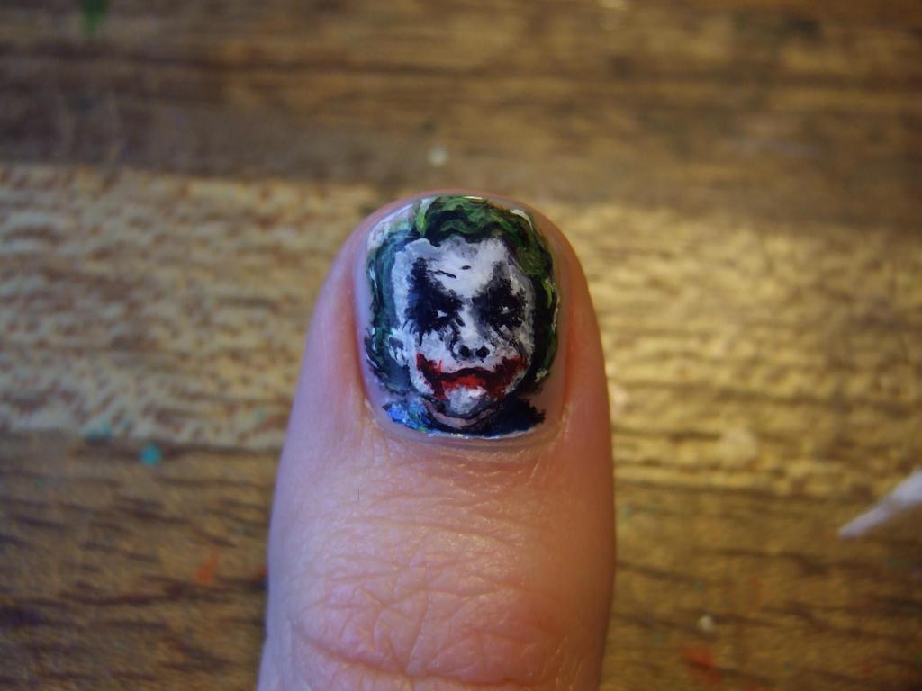 The joker nail by riddarsporre on DeviantArt