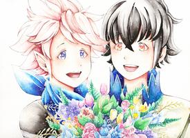 [AT] Kiragi and Kana by Fareow