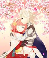 [CM] Sakura x Corrin by Fareow