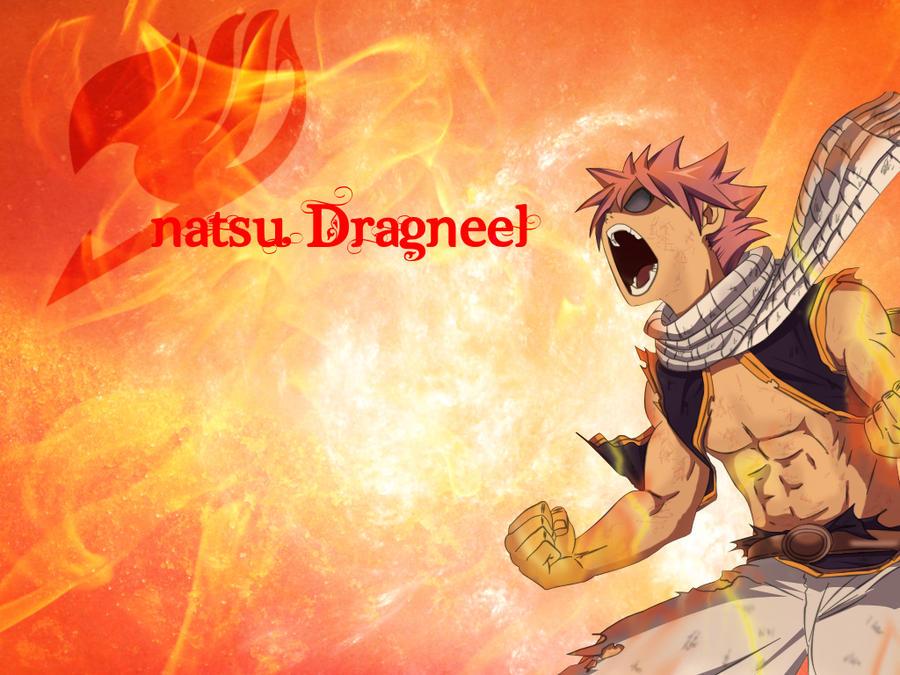 Natsu Dragneel Wallpaper By HitsugayaSenpai