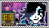 Undertale-Mettaton/EX stamp by KC-Stamps