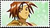 Kirishima Kanna - Sakura Taisen stamp2 by KC-Stamps