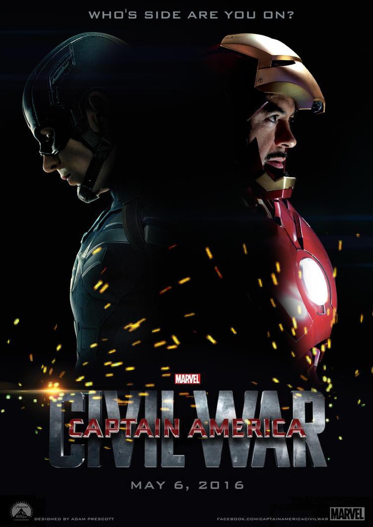 Poster design deviantart - Poster Design Deviantart Captain America Civil War Poster Design By Adzartz