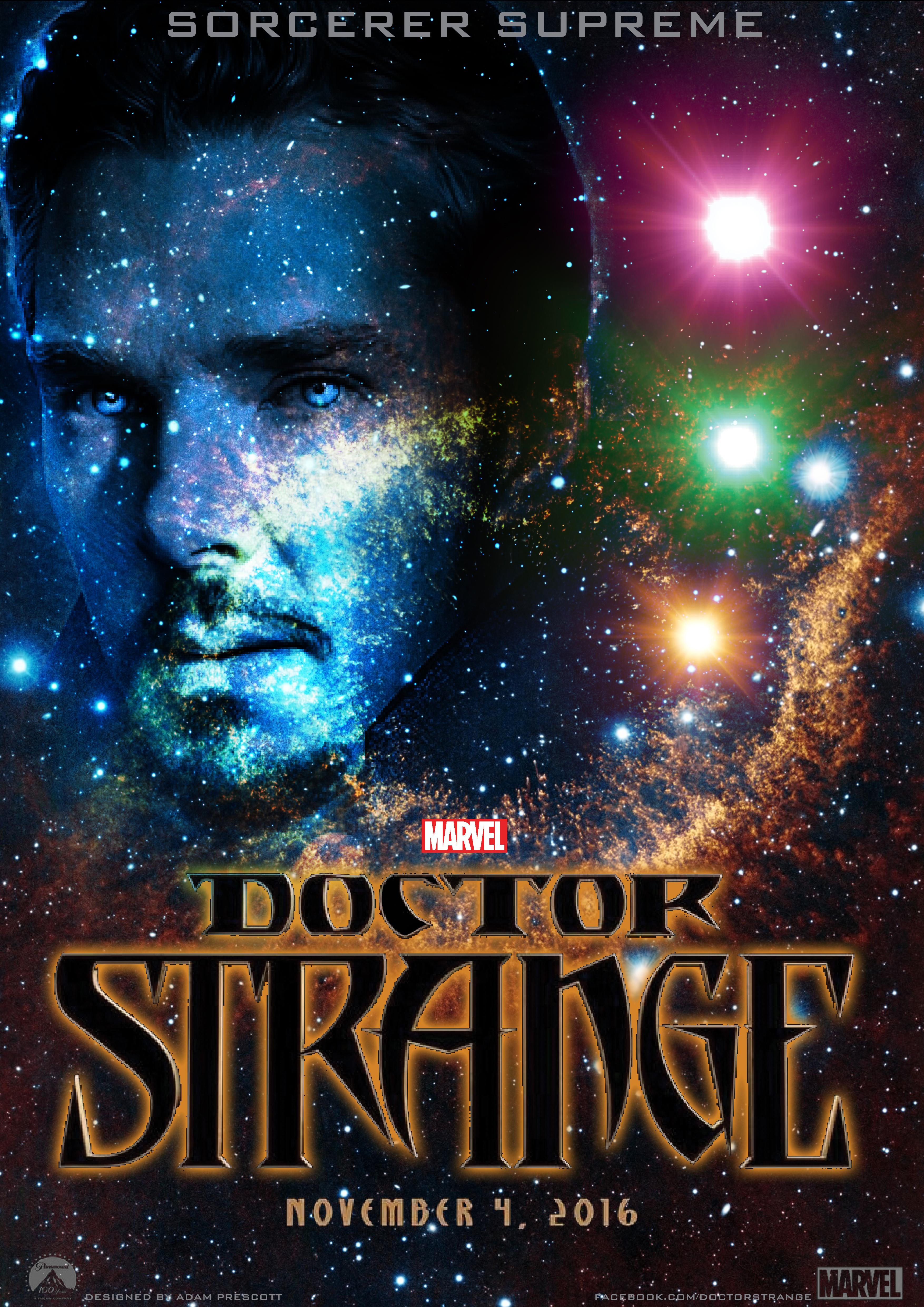 Dr Strange Poster Design by AdzArtz on DeviantArt