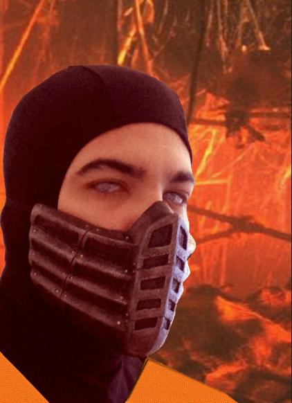 Scorpion Mask Mortal Kombat Movie By Accessvirus On Deviantart
