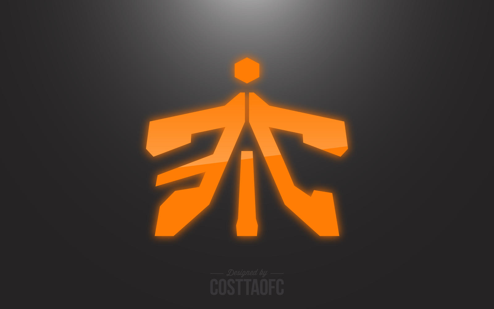 just my own version of fnatic logo by artursofc on deviantart