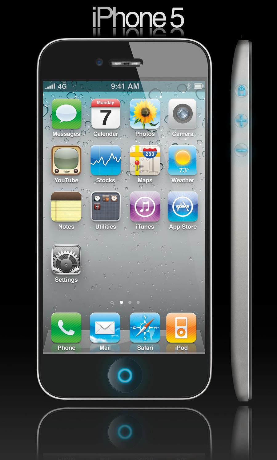 iPhone 5th Gen Concept