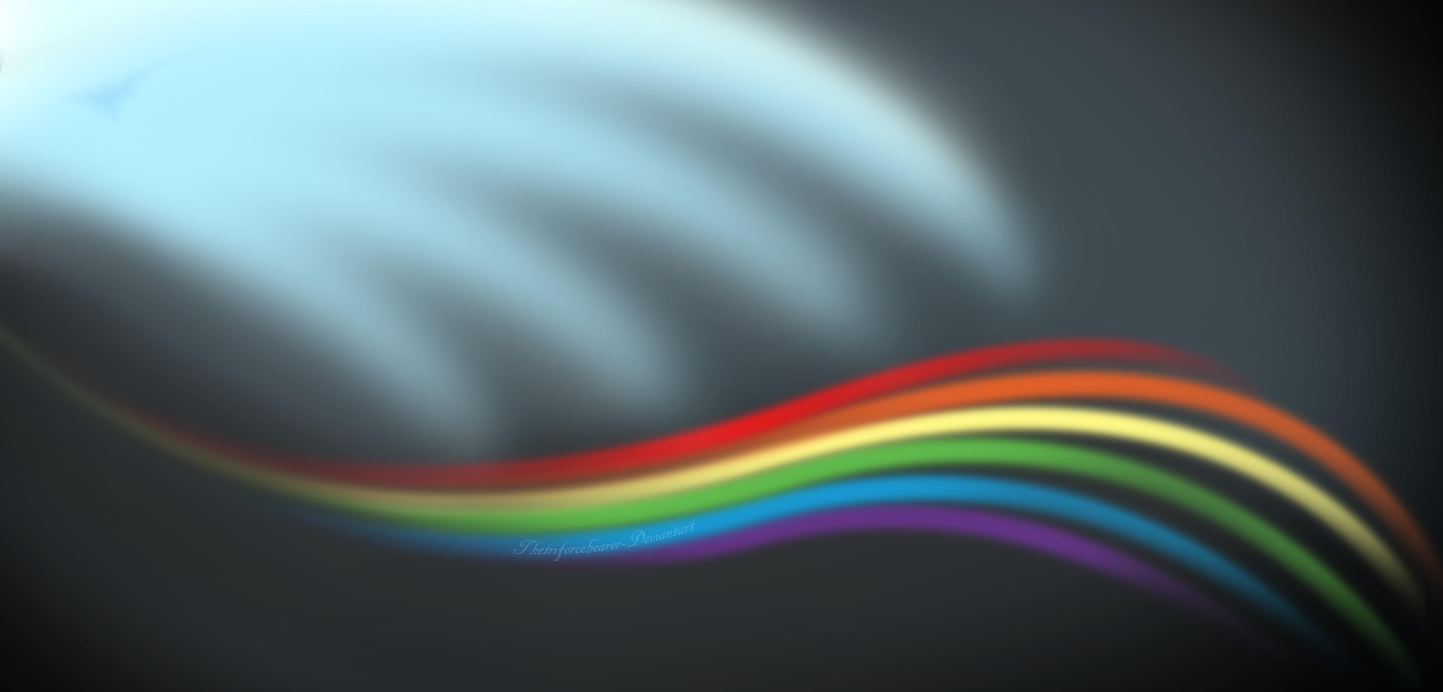 Rainbow Dash Wallpaper by Digital-Quill-Studio