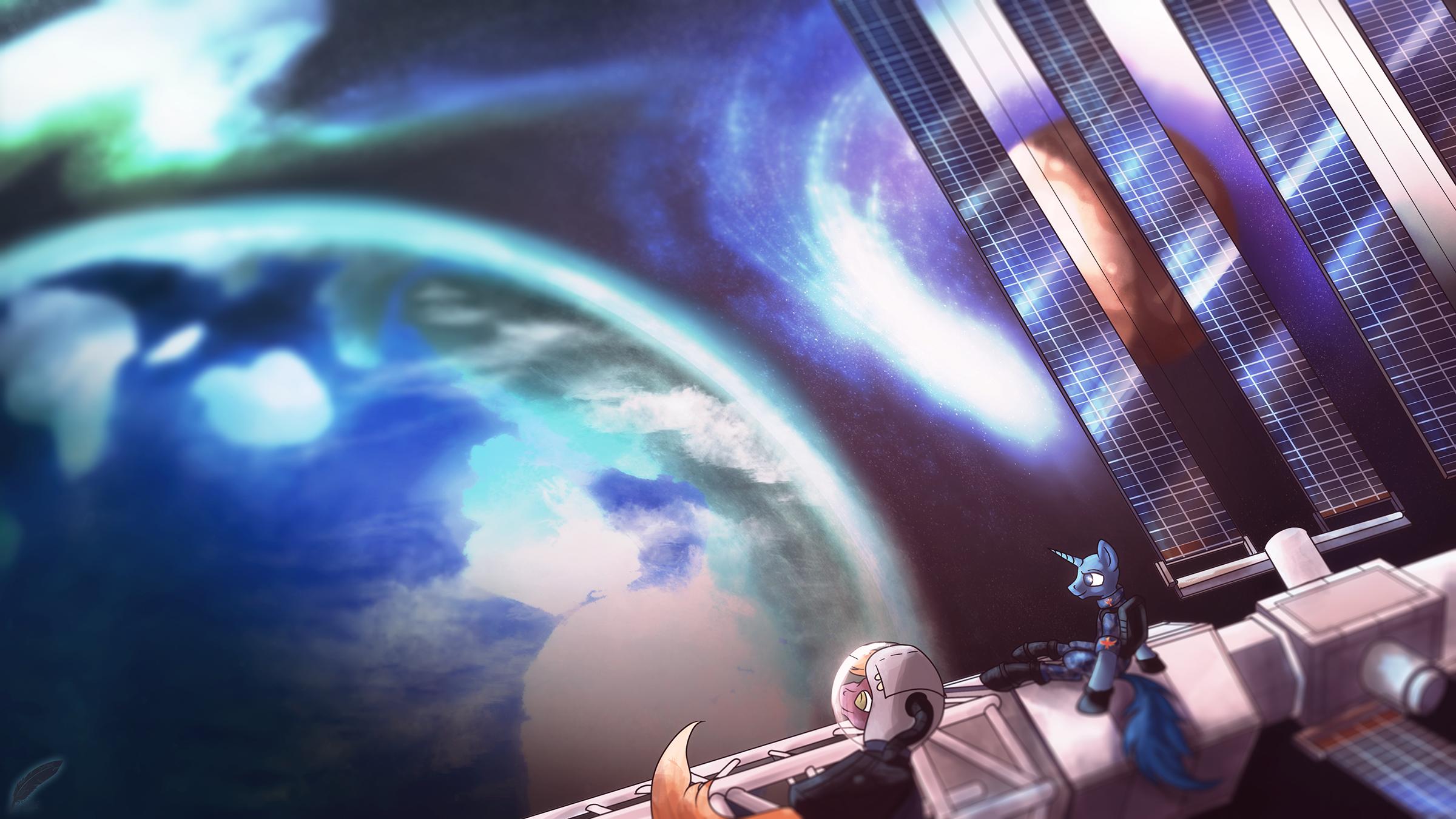 {Custom Commission} - Star Guard [Edit] by Amura-Of-Jupiter
