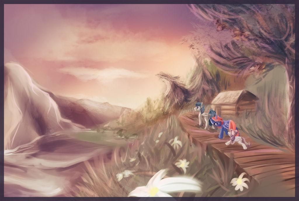 Landscape Commission - Come Along little one by Amura-Of-Jupiter