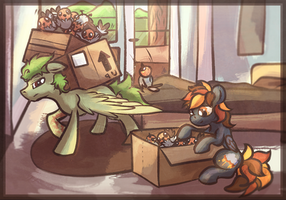 {IRL Austria Tales} Packing the Necessities by Amura-Of-Jupiter