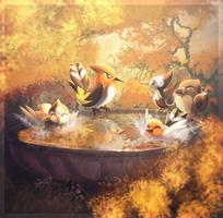 Autumn Baths by Amura-Of-Jupiter