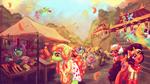 {Canvas Com} Bustling Carnival by Amura-Of-Jupiter