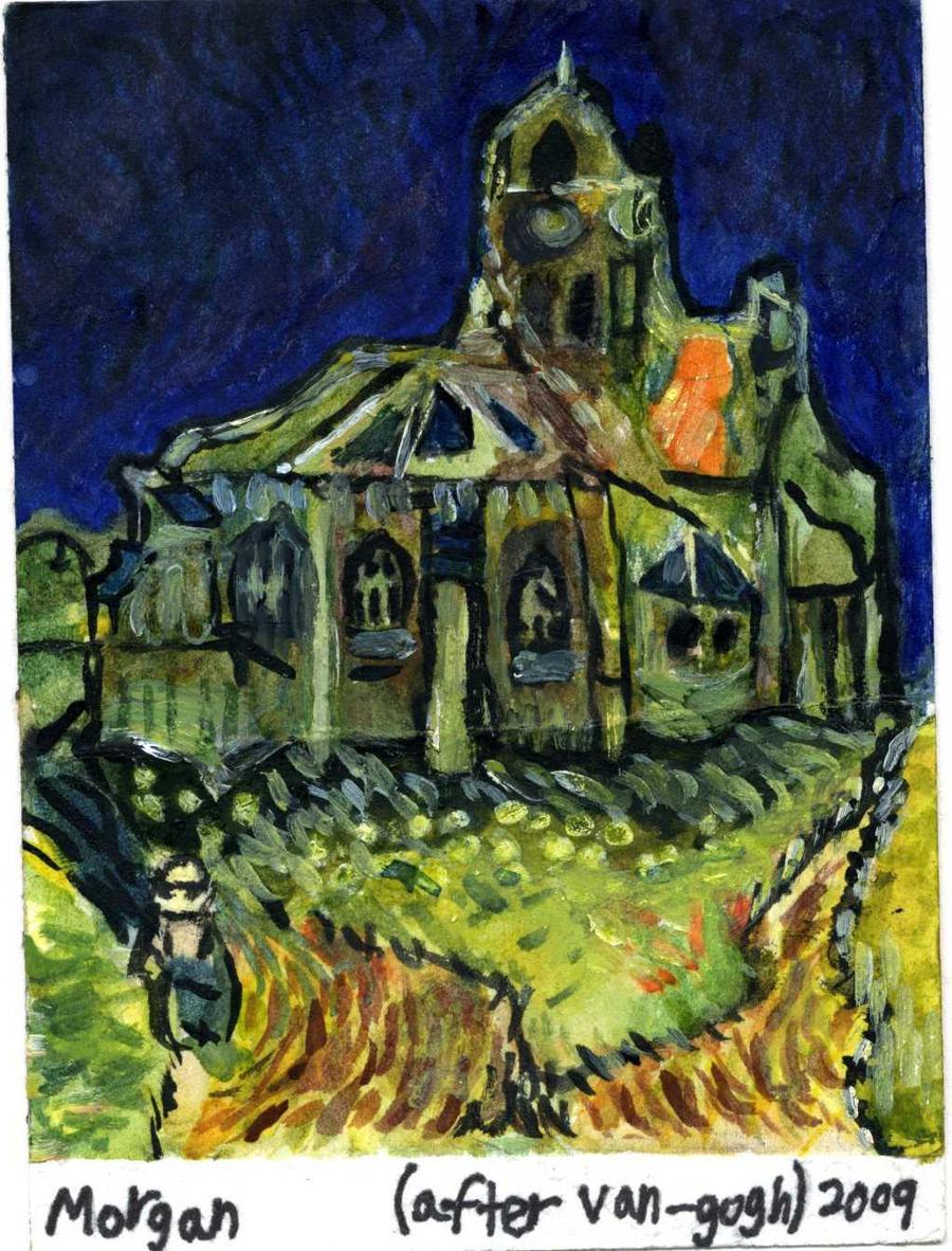 Набор из 30 открыток : Работы Винсента Ван Гога 94