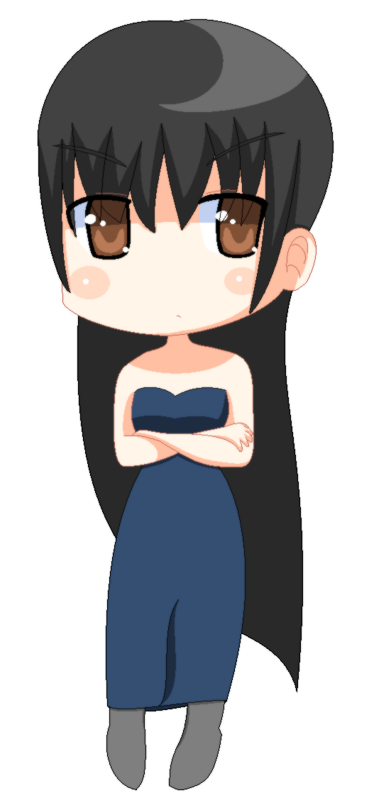 ID: Chibi Azelf in Evening Dress by Azelf101