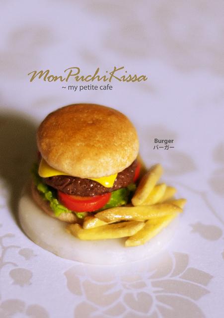 Burger by monpuchikissa
