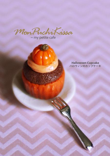 Halloween Cupcake by monpuchikissa