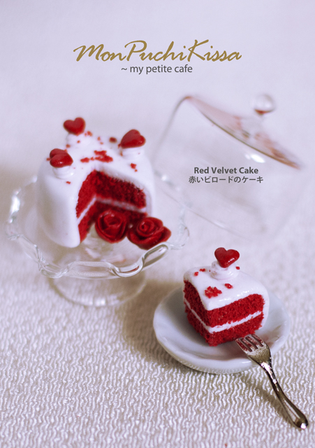 Red Velvet Cake by monpuchikissa