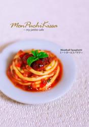 Meatball Spaghetti by monpuchikissa