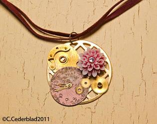 Steampunk necklace 02 by skuggsida