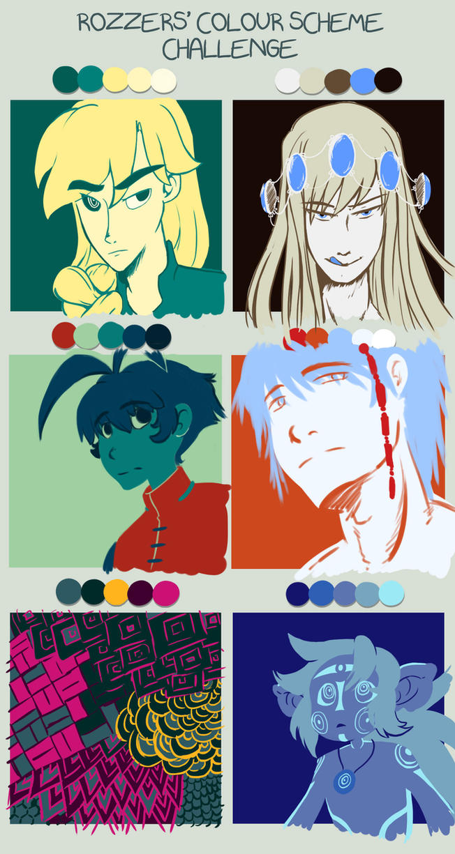 Color Challenge by Treah