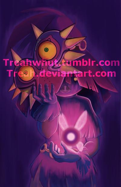 Skull Kid Yeh by Treah