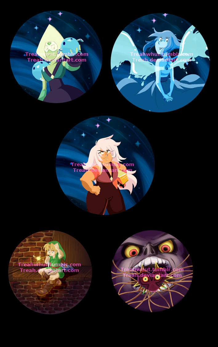 Steven and the anti gems: That moon tho by Treah
