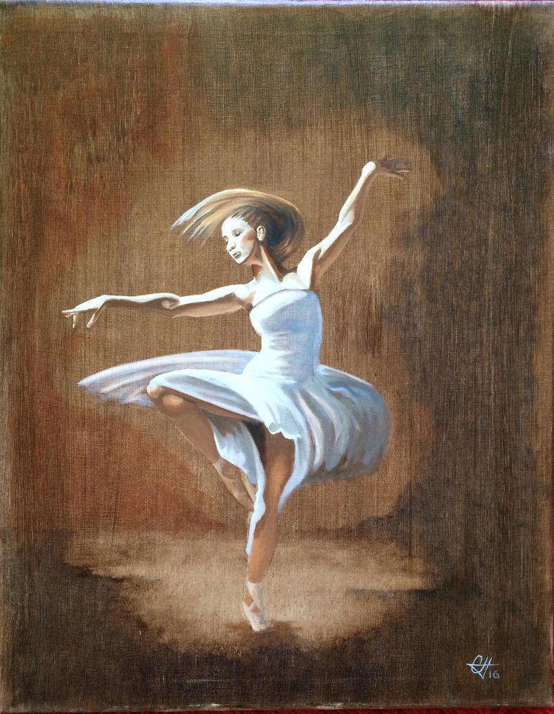 Ballerina by Anoldmansart