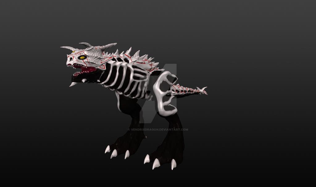 Demon Carnotaurus -Grimm Version by Vendrixdragon